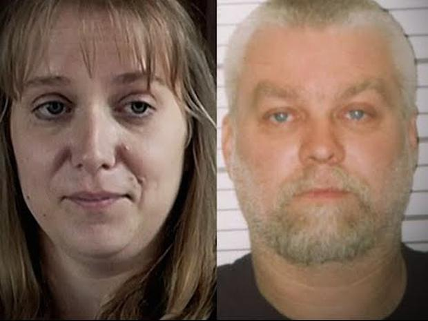 Making A Murderer: Jodi Stachowski and ex-fiance Steven Avery. Credit: Netflix