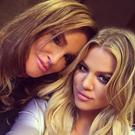 Khloe Karadashian and Caitlyn Jenner. Picture: Instagram