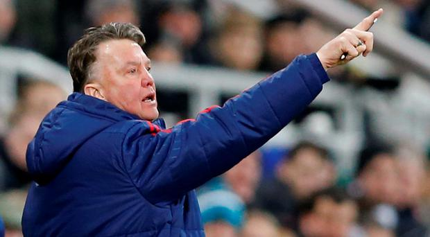 Manchester United manager Louis Van Gaal Action Images via Reuters / Carl Recine
