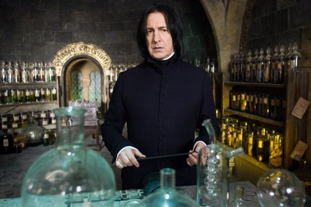 ALAN RICKMAN as Severus Snape in Warner Bros. Pictures' fantasy