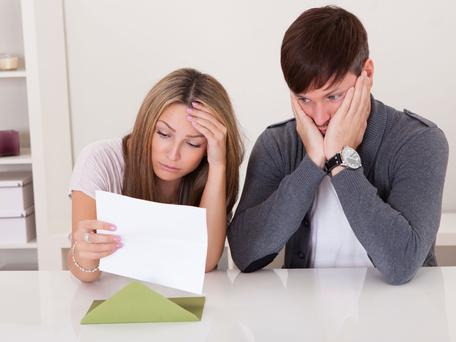 The number of mortgage accounts more than 90 days in arrears now stands at 47,500, down from 64,000 in November 2014. Picture posed. Thinkstock