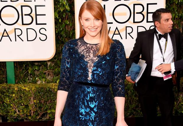 Actress Bryce Dallas Howard attends InStyle and Warner Bros. 73rd Annual Golden Globe Awards Post-Party at The Beverly Hilton Hotel on January 10, 2016 in Beverly Hills, California. (Photo by Frazer Harrison/Getty Images)
