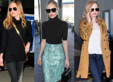 Kate Bosworth's airport style