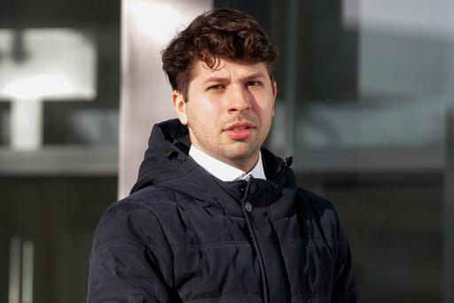Djair Carlos De Oliveira has been given a suspended sentence for assault causing harm and harassment of his ex-boyfriend. Photo: Courtpix