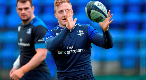 Hooker James Tracy was beaming all week after realising he would be handed his first European start (SPORTSFILE)