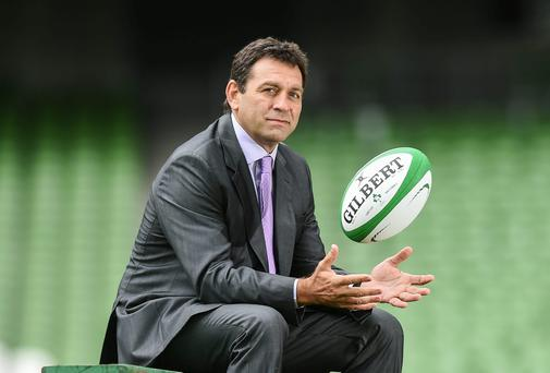 Having been in the job for a year and a half, Nucifora is currently working on a new strategic plan for Irish rugby that will allow him put his own stamp on the goals for the various stakeholders invested in the game here, while also taking into account the changed landscape of the game in Europe (SPORTSFILE)