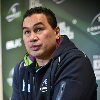 Connacht head coach Pat Lam (SPORTSFILE)