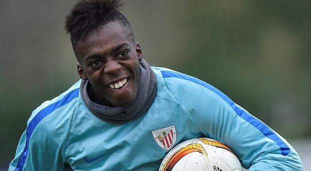 Arsenal are keen on young striker Inaki Williams Photo: AP