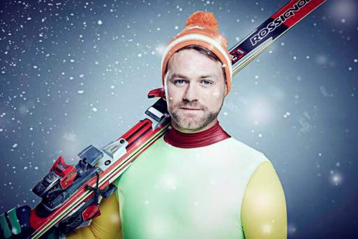 Brian McFadden, one of the contestants in this year's Channel 4 reality sport show, The Jump.