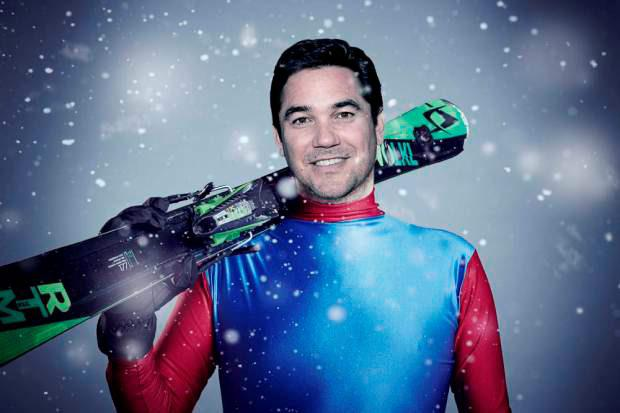 Dean Cain, one of the contestants in this year's Channel 4 reality sport show, The Jump.
