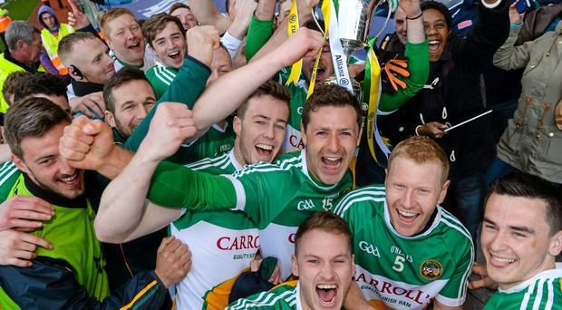 Offaly will not be eligible for the new competition after winning Division 4 in 2015