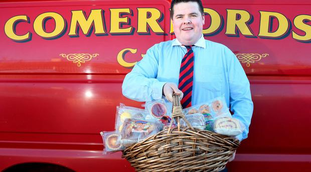 "Aidan Comerford of the family bakery, Comerford Brothers: ""Next year we'll have our first line with Lidl in Britain. That's a huge market to be in."" Photo: Tony Gavin"