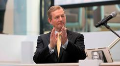 HOPEFUL: Enda Kenny's government can't predict performance. Photo: Gareth Chaney Collins