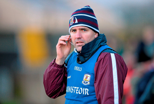 Galway manager Kevin Walsh. Picture credit: Ray Ryan / Sportsfile