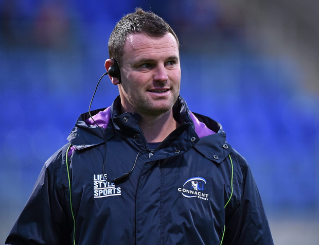 Connacht Eagles head caoch Nigel Carolan. Photo: Matt Browne / SPORTSFILE