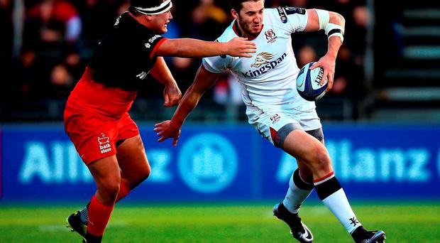 Ulster's Stuart McCloskey has been rested for tomorrow's game