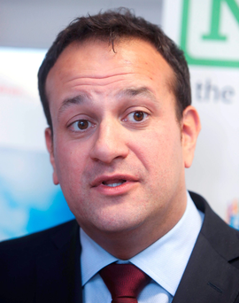 Leo Varadkar: urged doctors and nurses to get the flu jab Photo: Damien Eagers