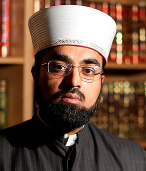 Dr Umar al-Qadri expressed alarm over attacks in Germany Photo: Gerry Mooney