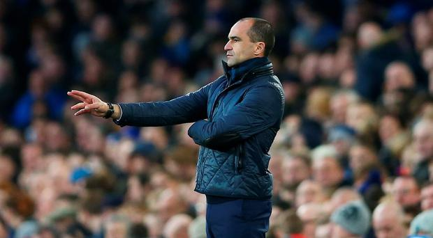 Roberto Martinez endured another frustrating finish against Chelsea. Photo: Clive Brunskill/Getty Images.