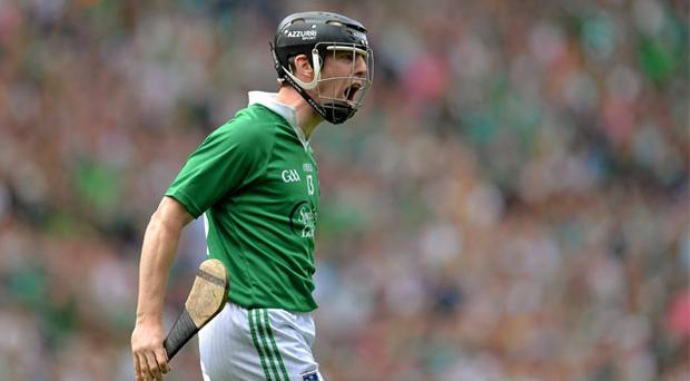 Limerick's Graeme Mulcahy struck first in the 19th minute. Photo: Sportsfile