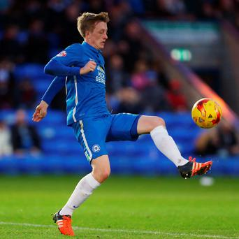 Chris Forrester in action with Peterborough United during a Sky Bet League One match. Photo: Catherine Ivill - AMA/Getty Images.