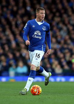 Everton's James McCarthy in action. Photo: Nigel Roddis/Getty Images.