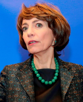 French Health Minister Marisol Touraine Photo: AP Photo/David Vincent