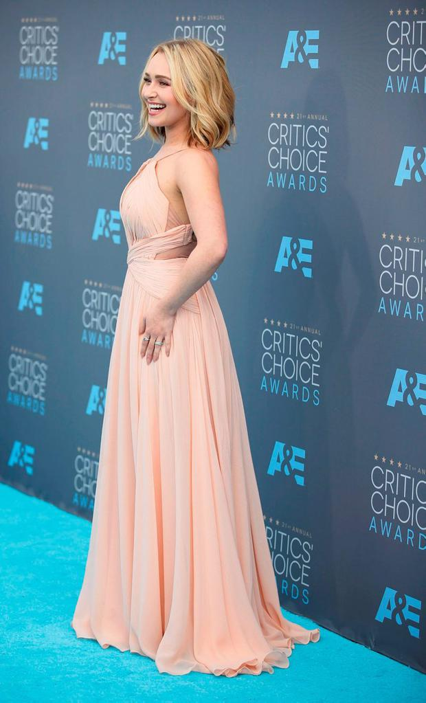 Actress Hayden Panettiere arrives at the 21st Annual Critics' Choice Awards in Santa Monica, California January 17, 2016. REUTERS/Danny Moloshok
