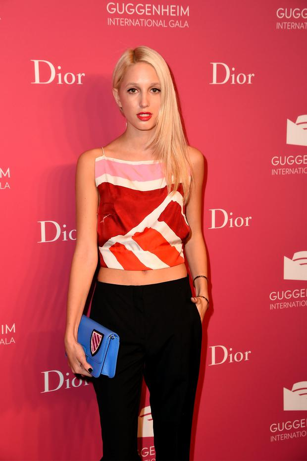 NEW YORK, NY - NOVEMBER 04: Princess Maria Olympia of Greece attends the 2015 Guggenheim International Gala Pre-Party made possible by Dior at Solomon R. Guggenheim Museum on November 4, 2015 in New York City. (Photo by Nicholas Hunt/Getty Images for Christian Dior)