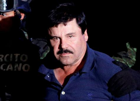 'El Chapo' - Mexican drug lord Joaquin Guzman (pictured)