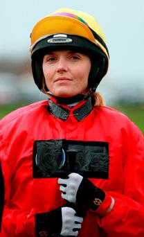 Victoria Pendleton will fulfill her dream of riding in Cheltenham's Foxhunter Chase on the plum mount Pacha Du Polder. Photo: David Davies/PA Wire.