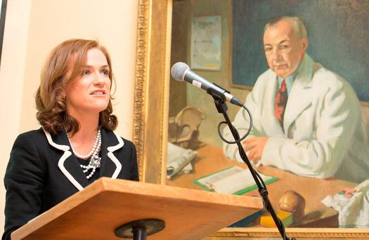 Dr Rhona Mahony, master of the National Maternity Hospital Holles Street Photo: Gareth Chaney, Collins