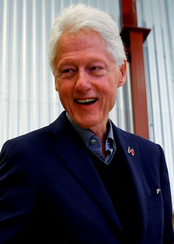 Bill Clinton has the highest approval rating of any politician in America Photo: REUTERS / Aaron P. Bernstein / Files