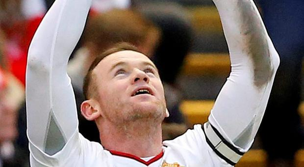 Manchester United's Wayne Rooney got the winning goal at Anfield on Sunday. Photo: Carl Recine / Action Images via Reuters