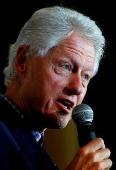 Bill Clinton Photo: REUTERS/Aaron P. Bernstein