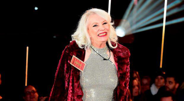 Angie Bowie arrives at the start of the latest series of Celebrity Big Brother