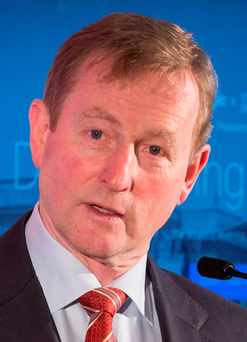 Enda Kenny issued a strong condemnation of the GSOC Photo: Colin O'Riordan