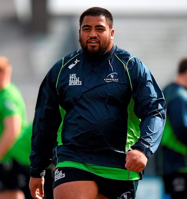 Connacht's Rodney Ah You is on the move to Ulster