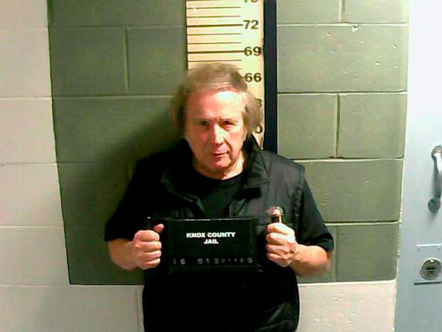 Photo provided by the Knox County Jail shows Don McLean. A jail supervisor said