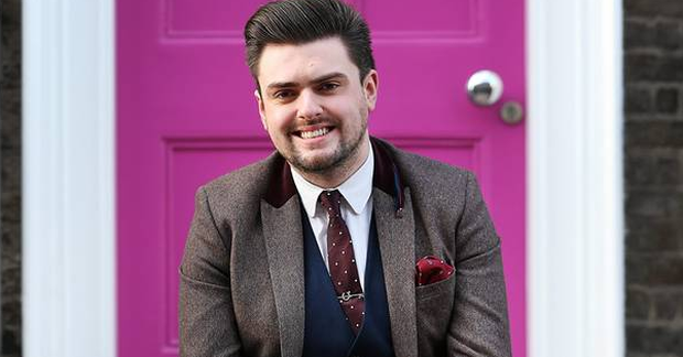Actor and stylist James Butler. Photo: Steve Humphries