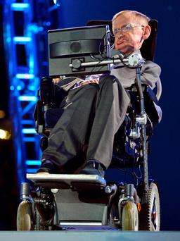 British physicist Stephen Hawking. REUTERS/Toby Melville