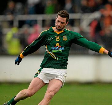 Meath's Mickey Newman. Photo: Brendan Moran / Sportsfile