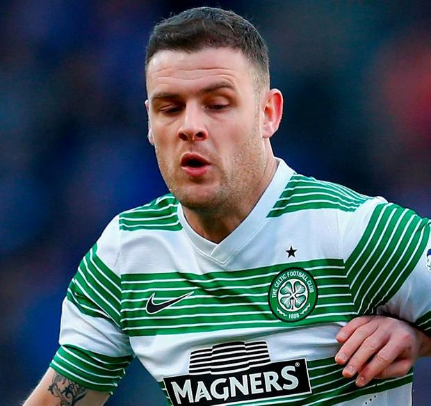 Anthony Stokes has returned to Hibernian in a bid to revive his footballing career. Photo by Julian Finney / Getty Images