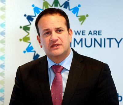 Minister for Health Leo Varadkar. Credit:Frank Mc Grath