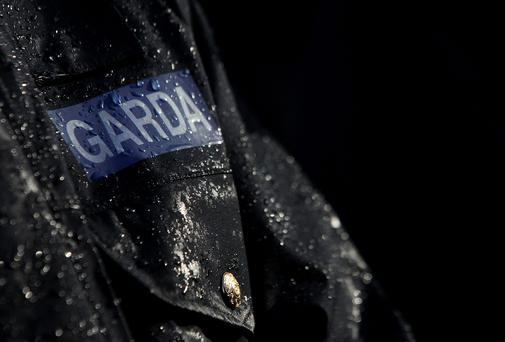 Gardai closed the road to allow an examination of the crash scene by a Garda Forensic Collision Investigator. Stock picture
