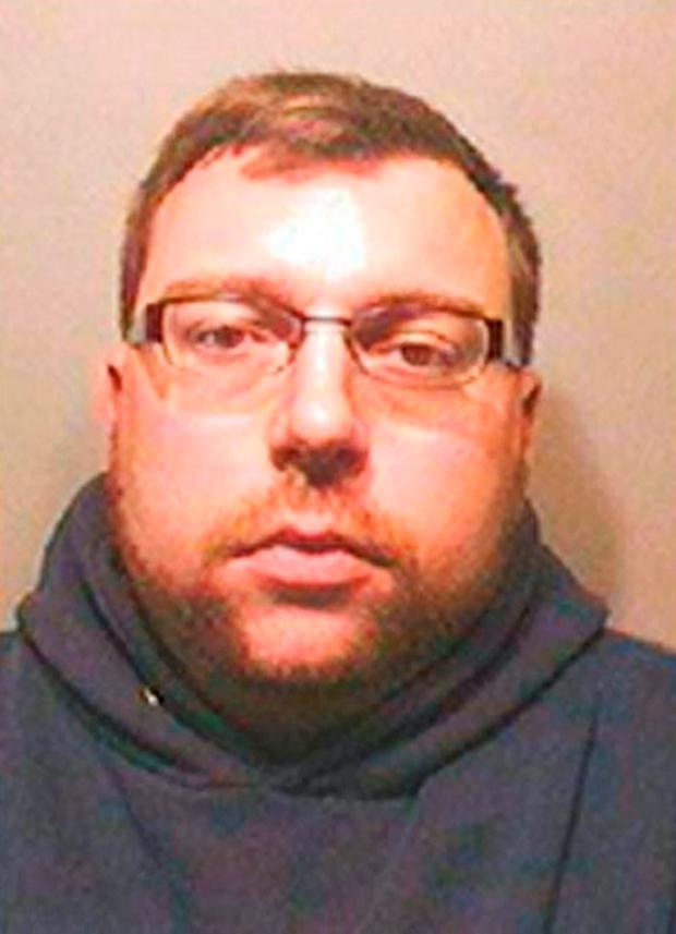 Undated handout photo issued by the National Crime Agency of paedophile Robin Hollyson who has died after being found unresponsive in his prison cell