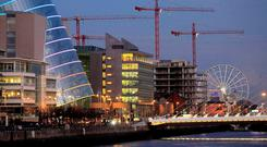 In its latest quarterly review since the bailout, the IMF praised Ireland for its strong economic growth. AP