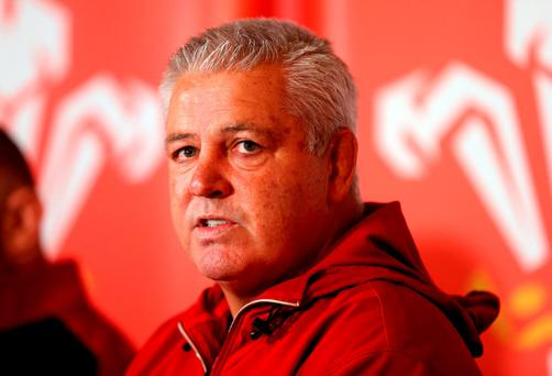 Wales head coach Warren Gatland (PA)