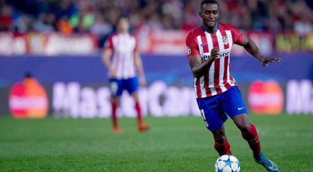 Atletico Madrid striker Jackson Martinez
