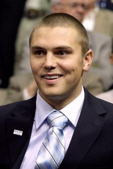 Track Palin. (AP Photo/Charles Rex Arbogast, File)